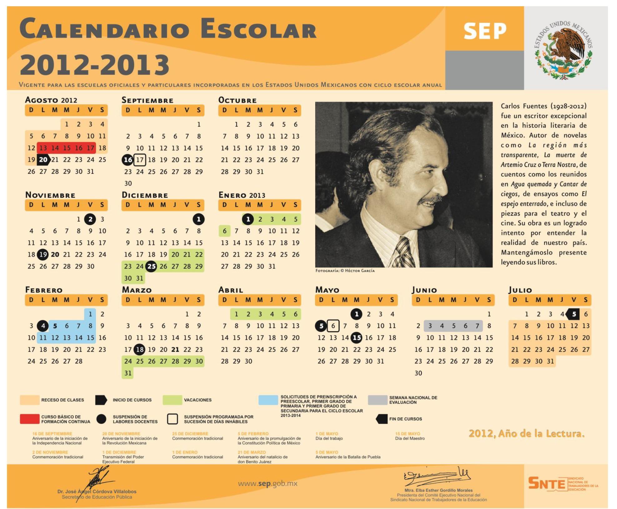 ... de vacaciones de verano continúan hasta el 19 de junio de 2012