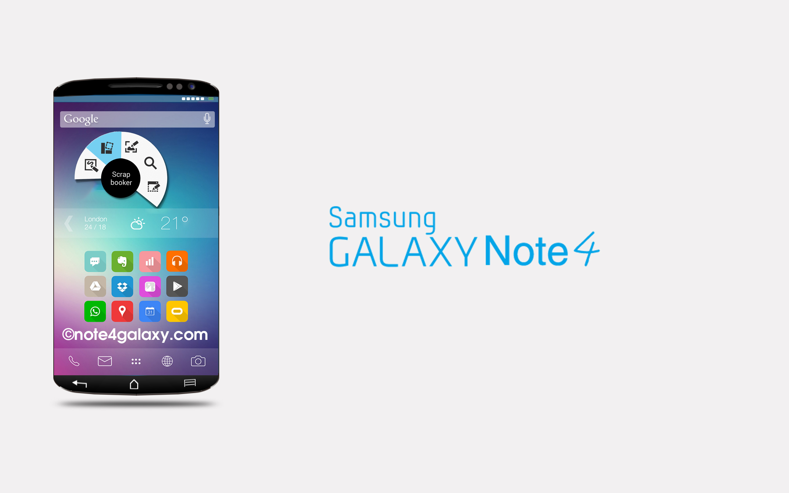 Galaxy-Note-4-ConceptGalaxy Note 4 Concept