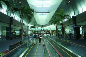 aeropuerto de Changi en Singapur