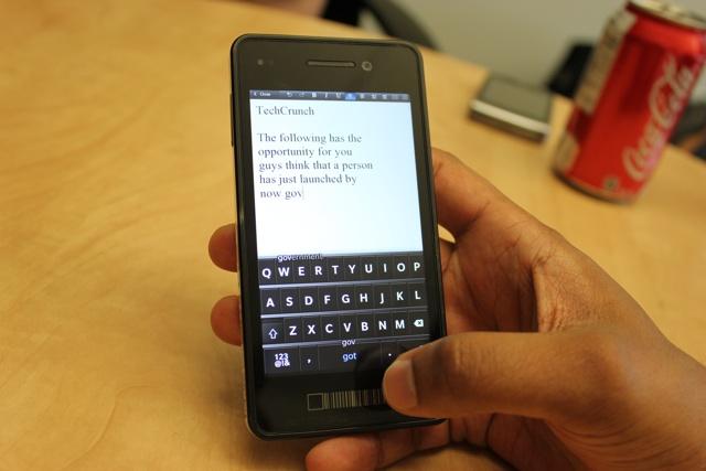 blackberry 10 teclado