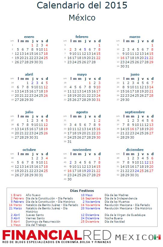imagenes de calendario 2015