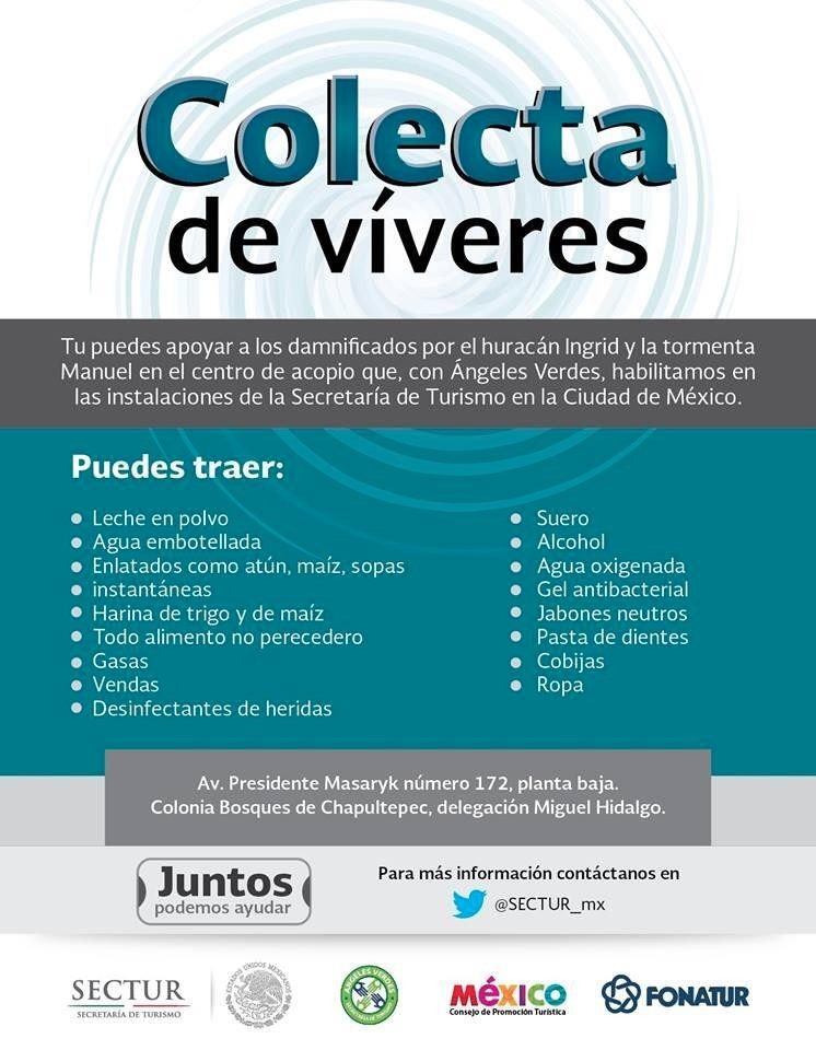 colecta-sectur-