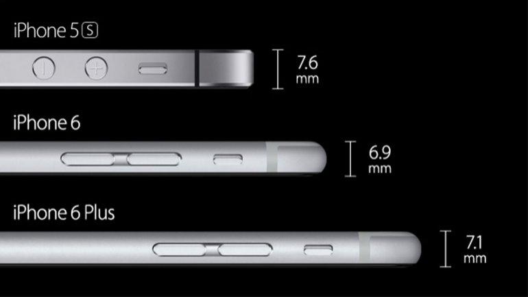 comparacion iphone 6