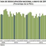 desocupacion mayo 2013 mexico