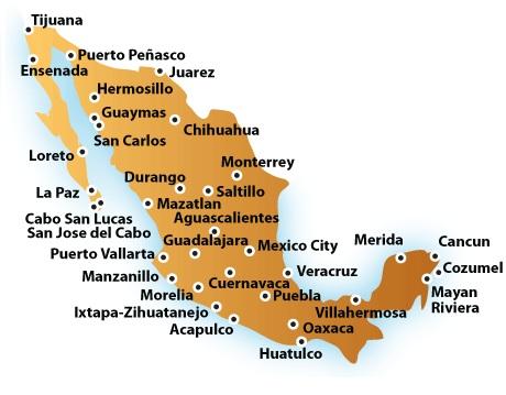 mexico entidades federativas