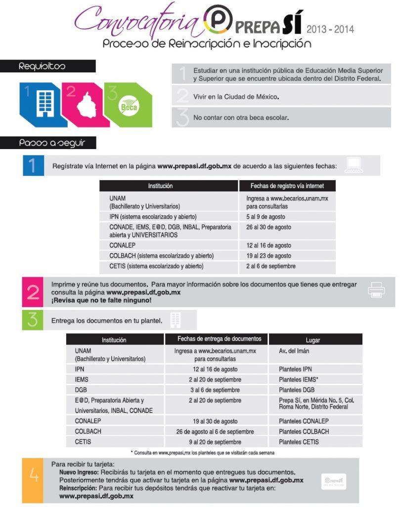 prepa si convocatoria 2013-2014