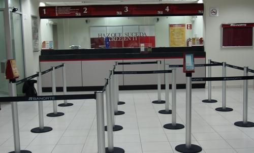 Sucursales bancarias en México
